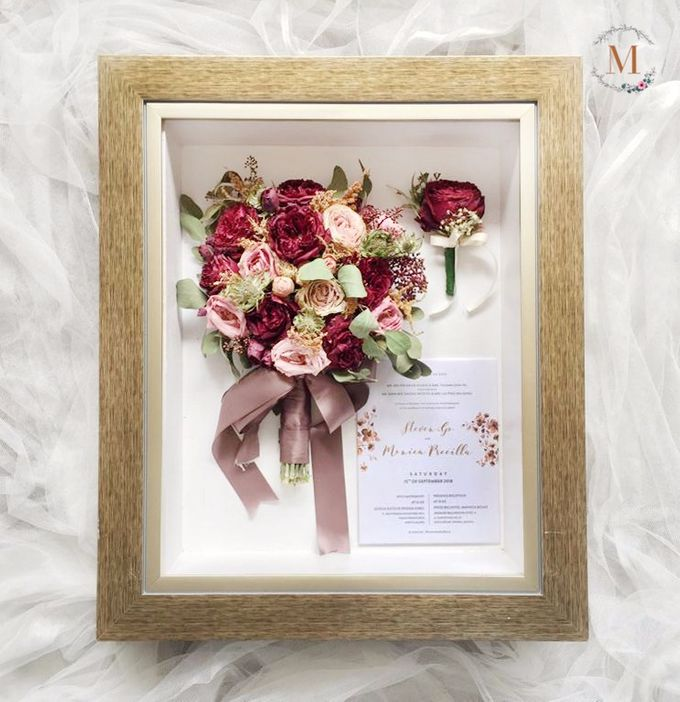 Signature of Bouquet 40x50 by Magnolia Dried Flower - 004