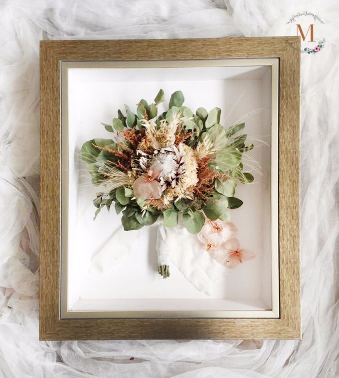 The Bouquet 40x50 by Magnolia Dried Flower - 004