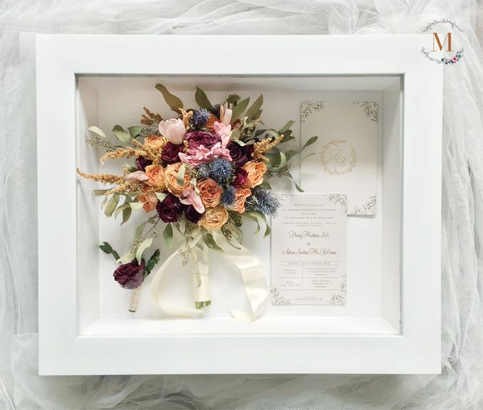 Signature of Bouquet 40x50 by Magnolia Dried Flower - 003