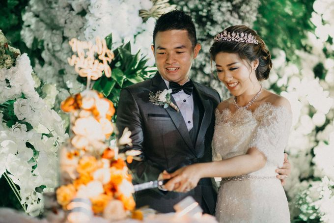 DAVID & FELICIA WEDDING by DHIKA by MA Fotografia - 041