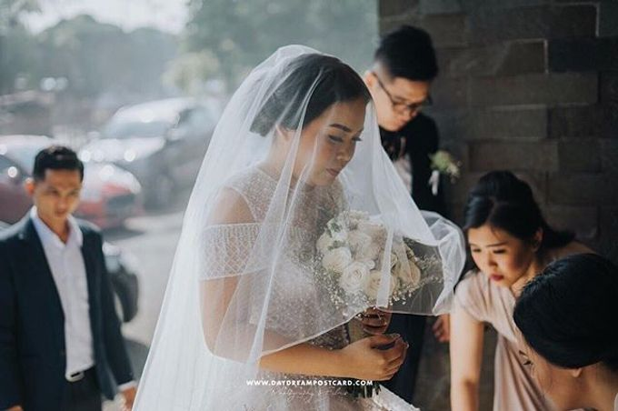 The Wedding of Pinky & William by Anve Sposa - 005