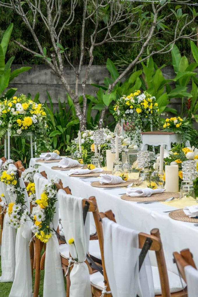 Yellow White and Green by CITTA Wedding - 007