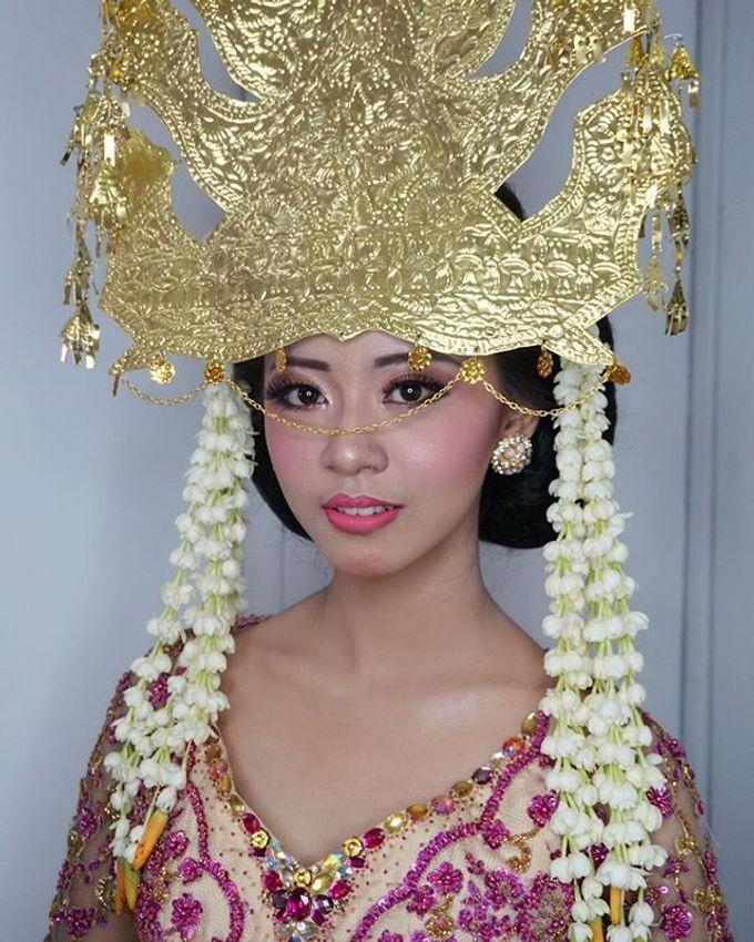 Batak Wedding Makeup by MRS Makeup & Bridal - 002