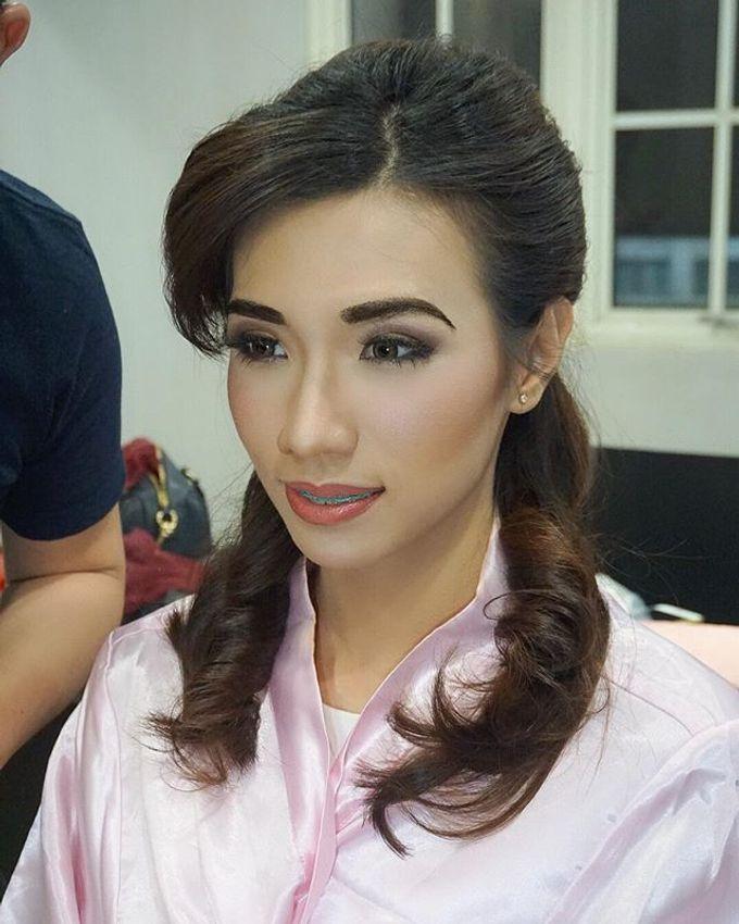 Airbrush Bride Makeup by MRS Makeup & Bridal - 002