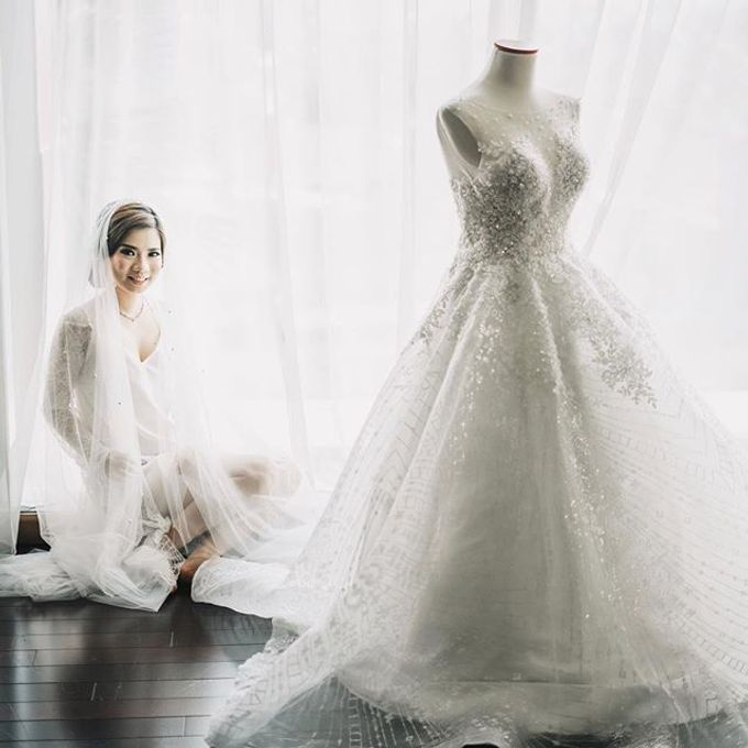The Wedding of Stephanie & Christianto by Anve Sposa - 005
