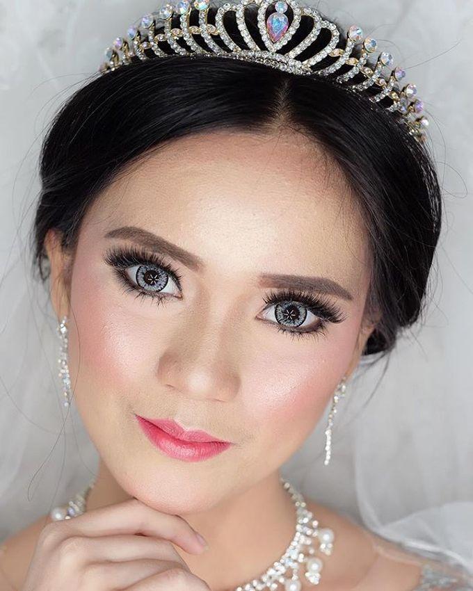Bride Makeup by MRS Makeup & Bridal - 003