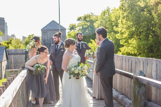 Rustic White and Green Wedding by Stone House Creative - 007