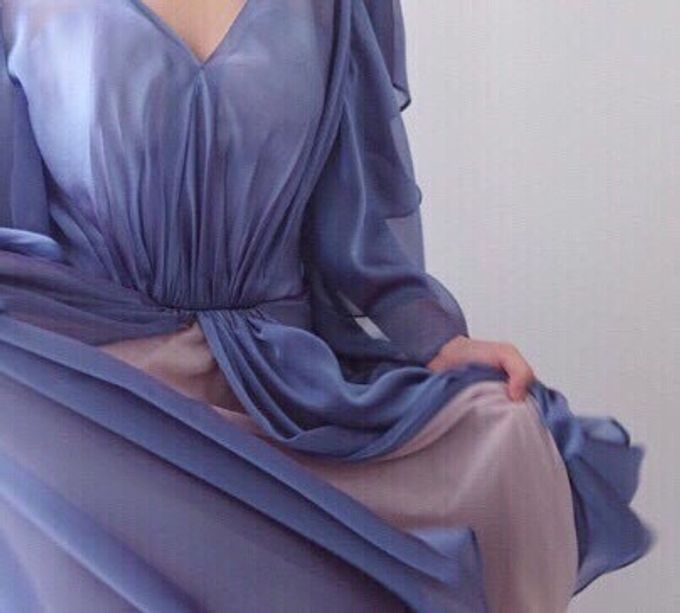 Blue Dress Photoshoot by Anve Sposa - 004