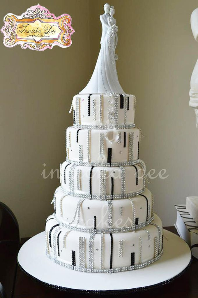 Wedding Cakes by Innicka Dee Cakes - 041