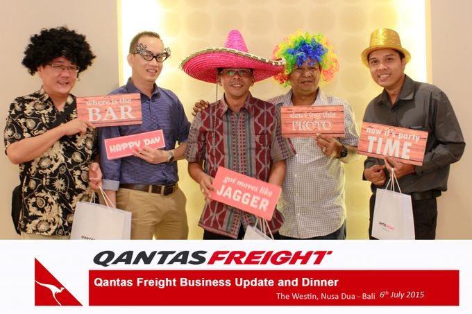 Qantas Freight Business Update and Dinner by Happy Moment PhotoBooth - 016