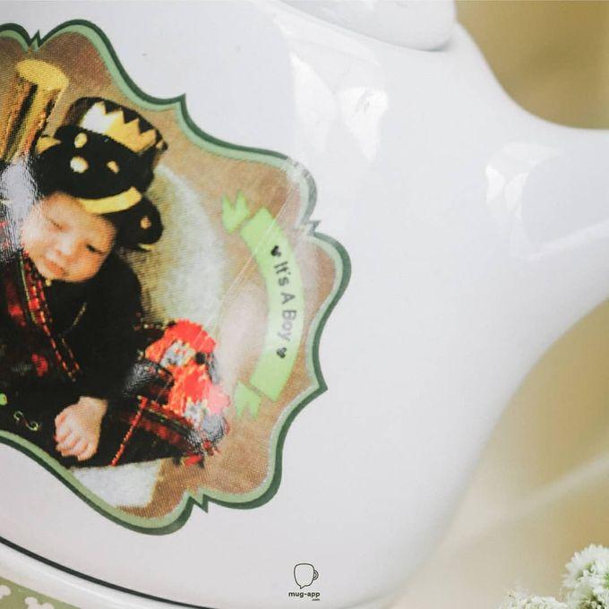TEKO SUSUN BABY BORN by Mug-App Wedding Souvenir - 006
