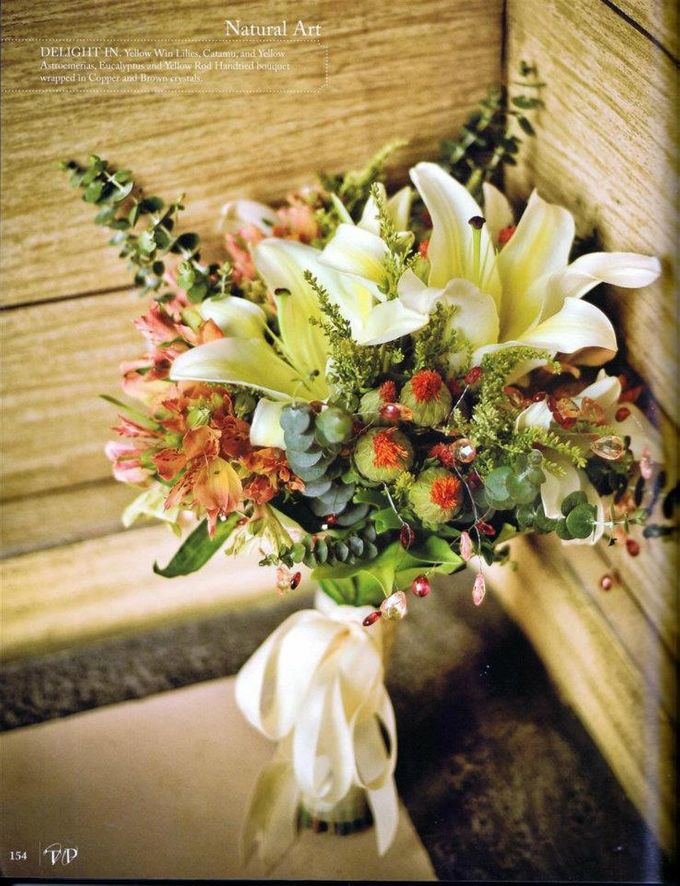 Bouquet of Flowers by Abhie Tan of Natural Art Works by Natural Art Flowers and Decors - 005