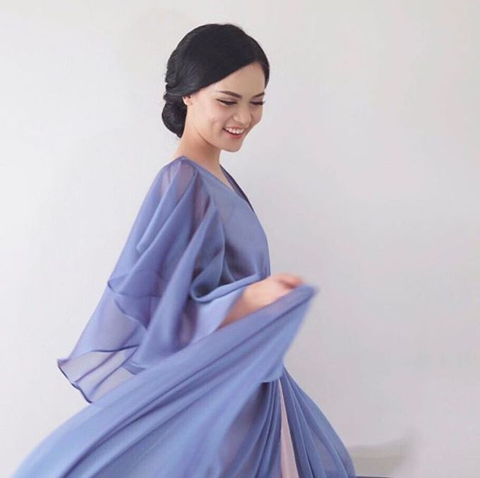 Blue Dress Photoshoot by Anve Sposa - 007