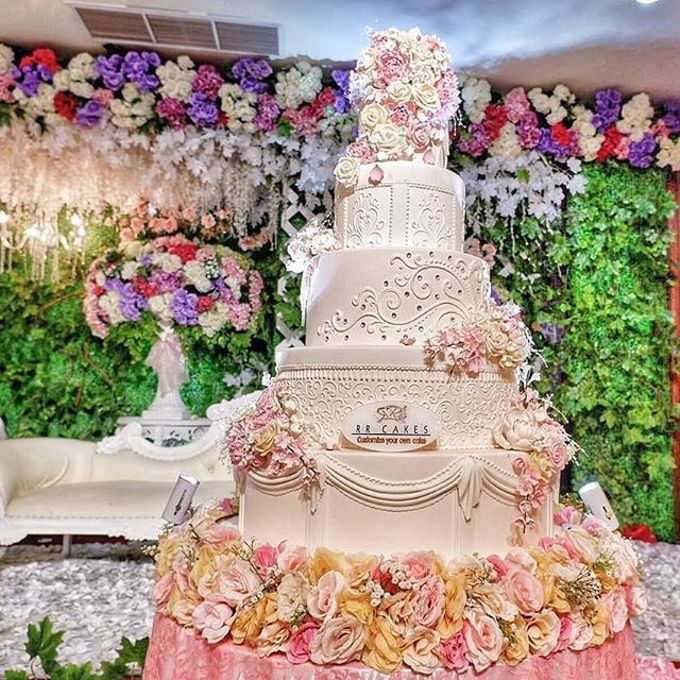 Wedding Cake - Real Wedding by RR CAKES - 045