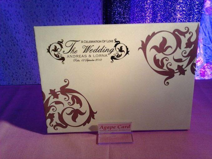 Wedding Card by Agape Card - 003