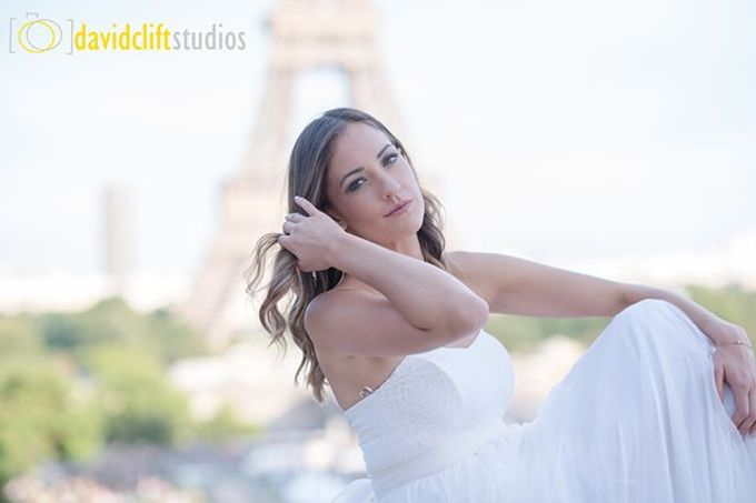 Paris Bridal Shoots  by David Clift Studios - 037
