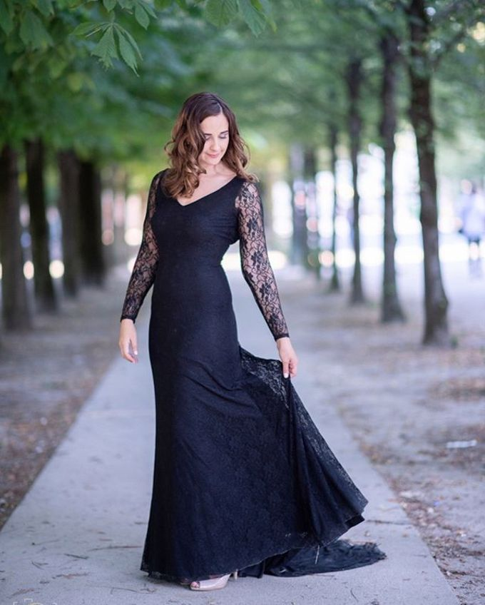 Wedding Photoshoot in Paris with various brides by davidcliftstudios - 001