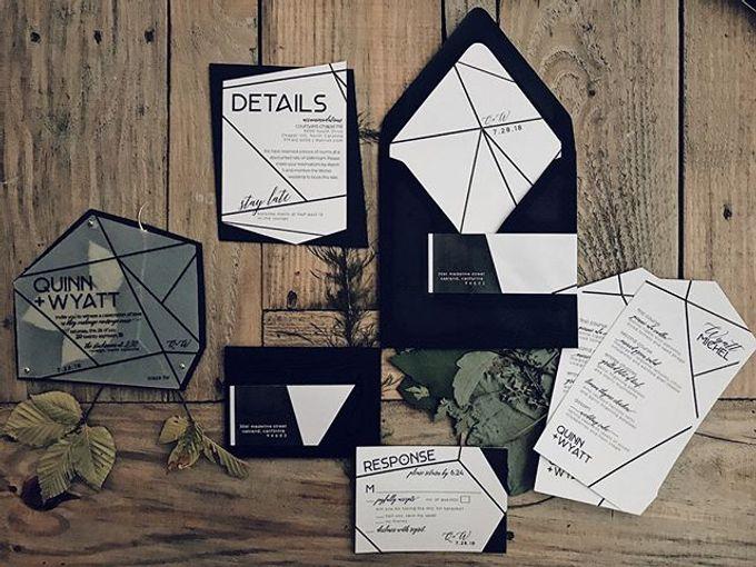 Custom Invitations by revelry + heart - 001