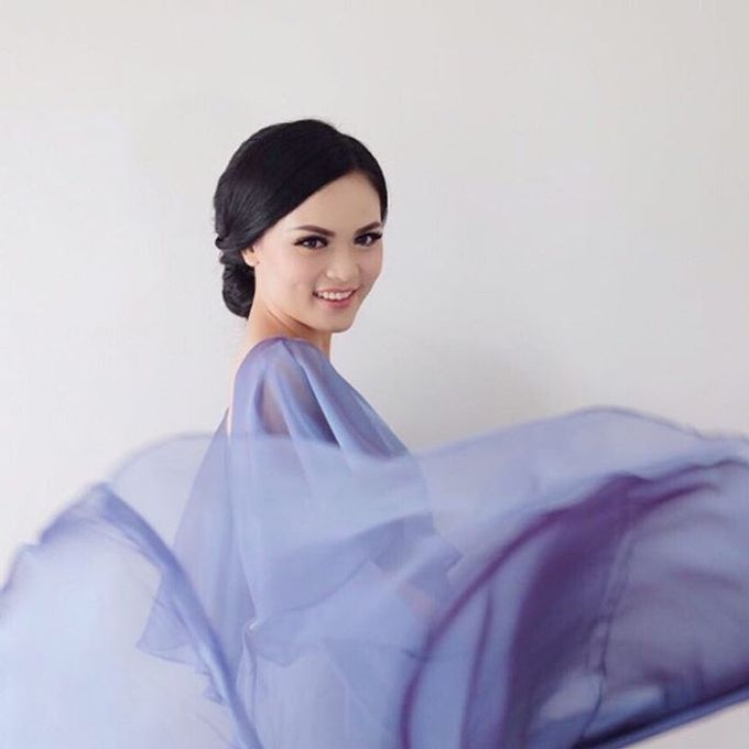 Blue Dress Photoshoot by Anve Sposa - 009