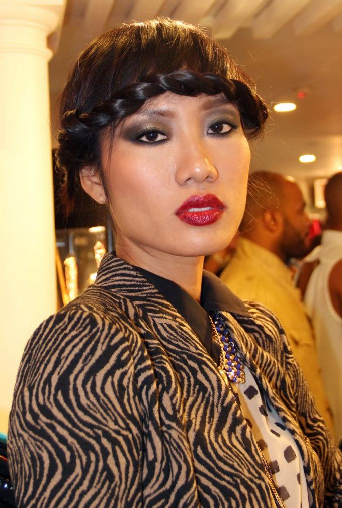 Vietnamese Next Top Model 2012 by Elza Finishya Makeup Artist - 002