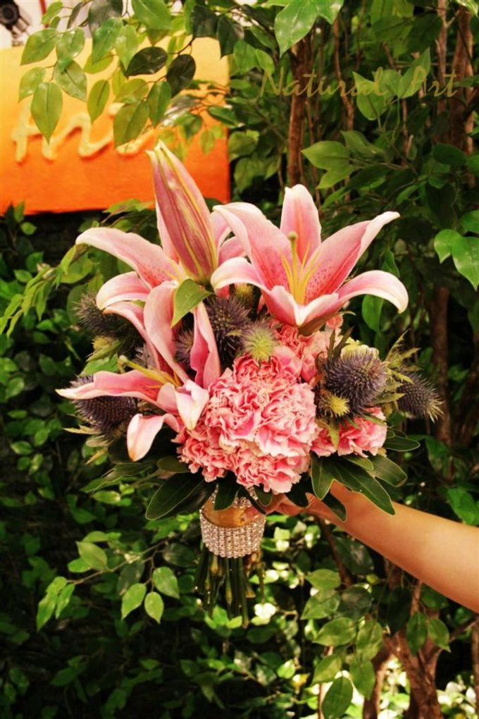 Bouquet of Flowers by Abhie Tan of Natural Art Works by Natural Art Flowers and Decors - 007