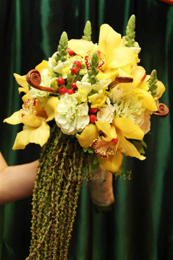 Bouquet of Flowers by Abhie Tan of Natural Art Works by Natural Art Flowers and Decors - 008