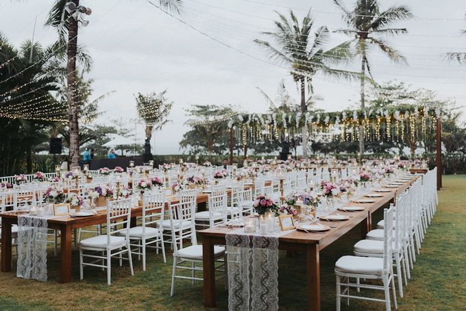 BBQ and Fairy Lights by DIJON BALI CATERING - 009