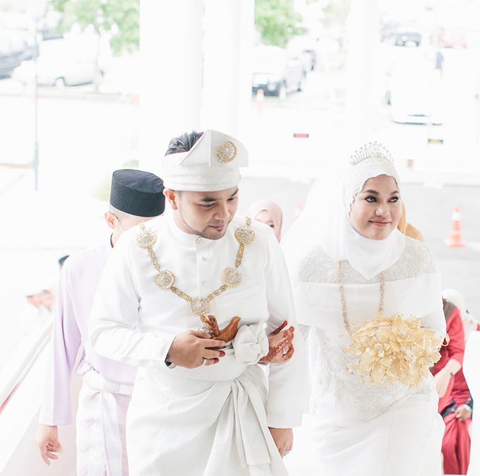 Sharifah Zarah Hanis & Alif Fitri by ankl.co | Lifestyle & Wedding Photography - 003