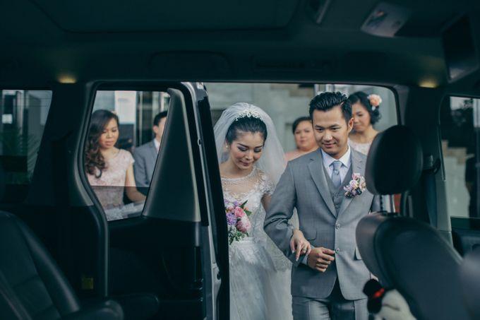 Tomas & Asti Jakarta Wedding by Ian Vins - 023