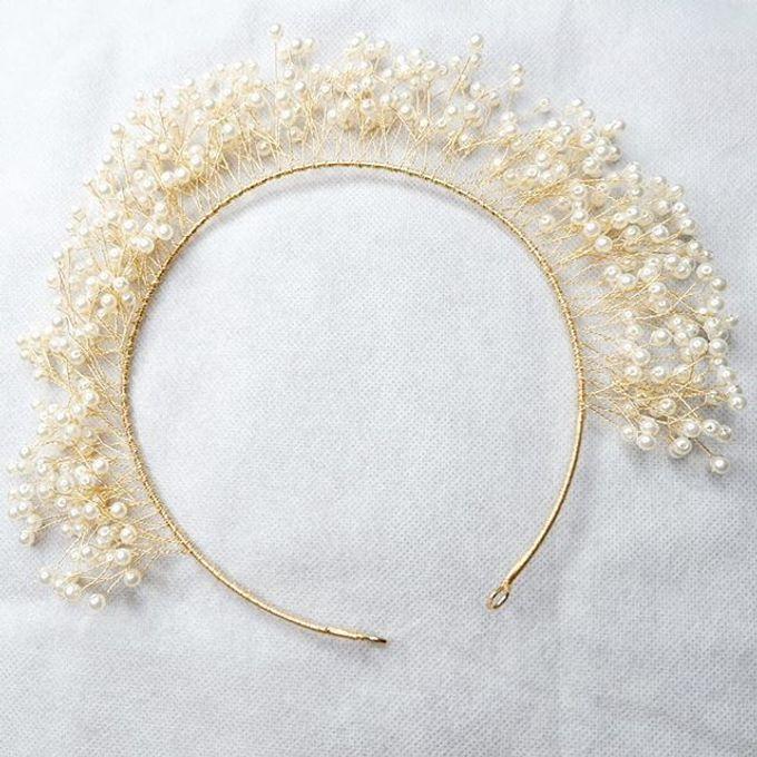 Headpiece & Crown by Ilona Headpiece & Crown - 050