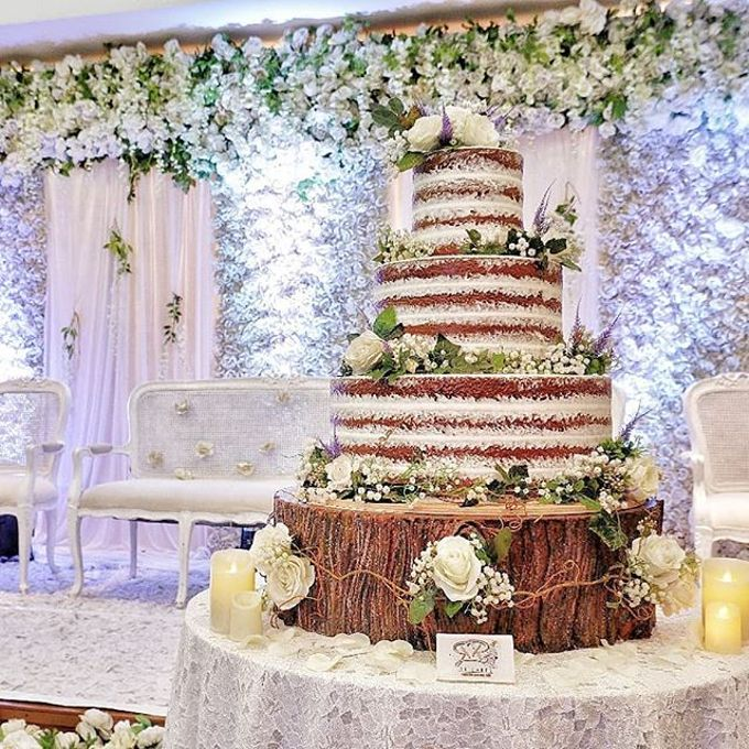 Wedding Cake - Real Wedding by RR CAKES - 047