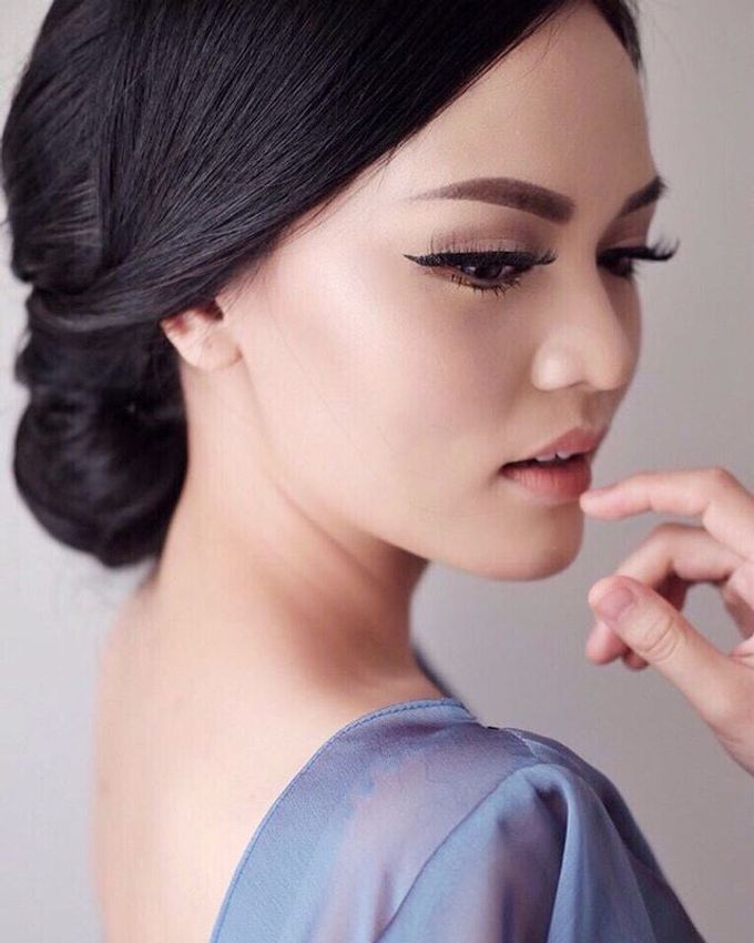 Blue Dress Photoshoot by Anve Sposa - 006