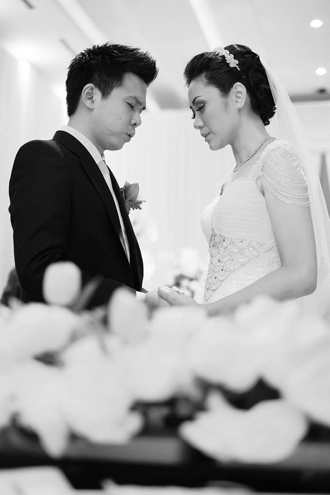 the wedding of Donald & Meliana - 23 Maret 2013 by Full House the organizer & entertainment - 009