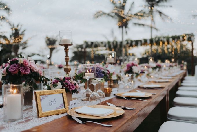 BBQ and Fairy Lights by DIJON BALI CATERING - 010