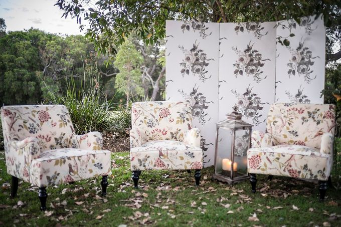 A Selection of Wedding Furniture we have available by Chic Rustique - 019