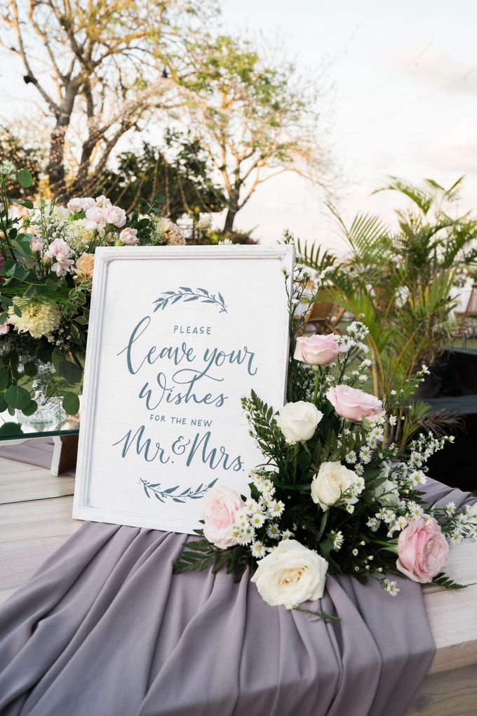 The Wedding of  Sherridan & Dylan by Bali Wedding Atelier - 006