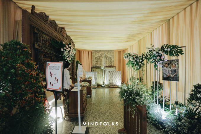 Foyer Decoration Inspiration for New Normal Wedding by Skenoo Hall Emporium Pluit by IKK Wedding - 007