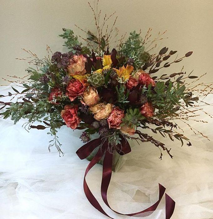 Premium Bridal Bouquet  by La Fleur Société - 007