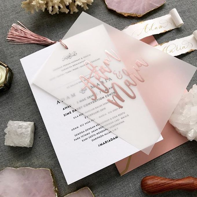 Vellum Invitation & Tassel by Ello Props - 010