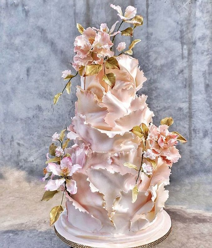 Wedding Cake - Real Wedding by RR CAKES - 048