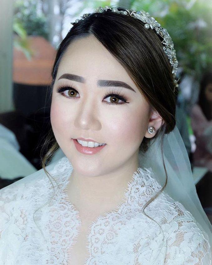 The Wedding of Priska & Partner by Felicaang Makeup Artist - 001