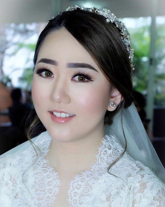 The Wedding of Priska & Partner by Felicaang Makeup Artist - 002