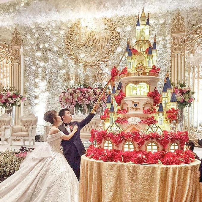 Wedding Cake - Real Wedding by RR CAKES - 046
