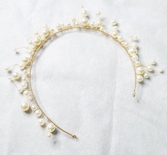 Headpiece & Crown by Ilona Headpiece & Crown - 048