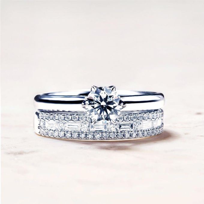 Engagement Ring by Lovemark Diamond - 001