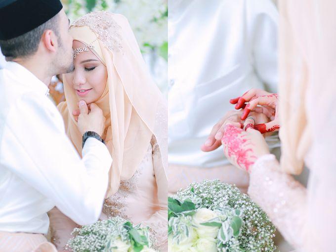 RAIHANA & MOHAMMAD by The Rafflesia Wedding & Portraiture - 039
