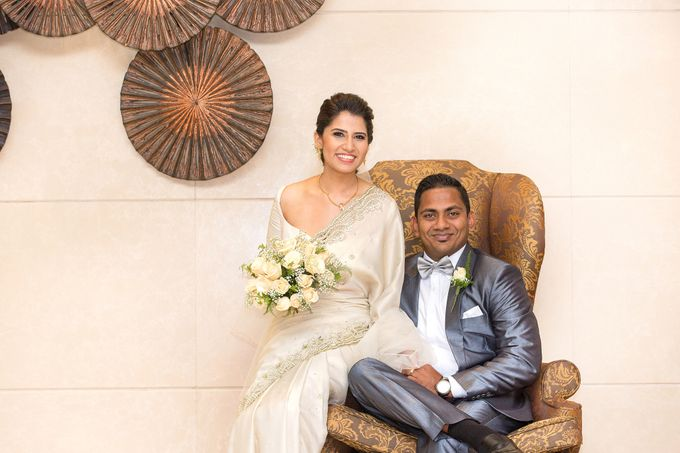 Wedding of Roshani & Charith by DR Creations - 021