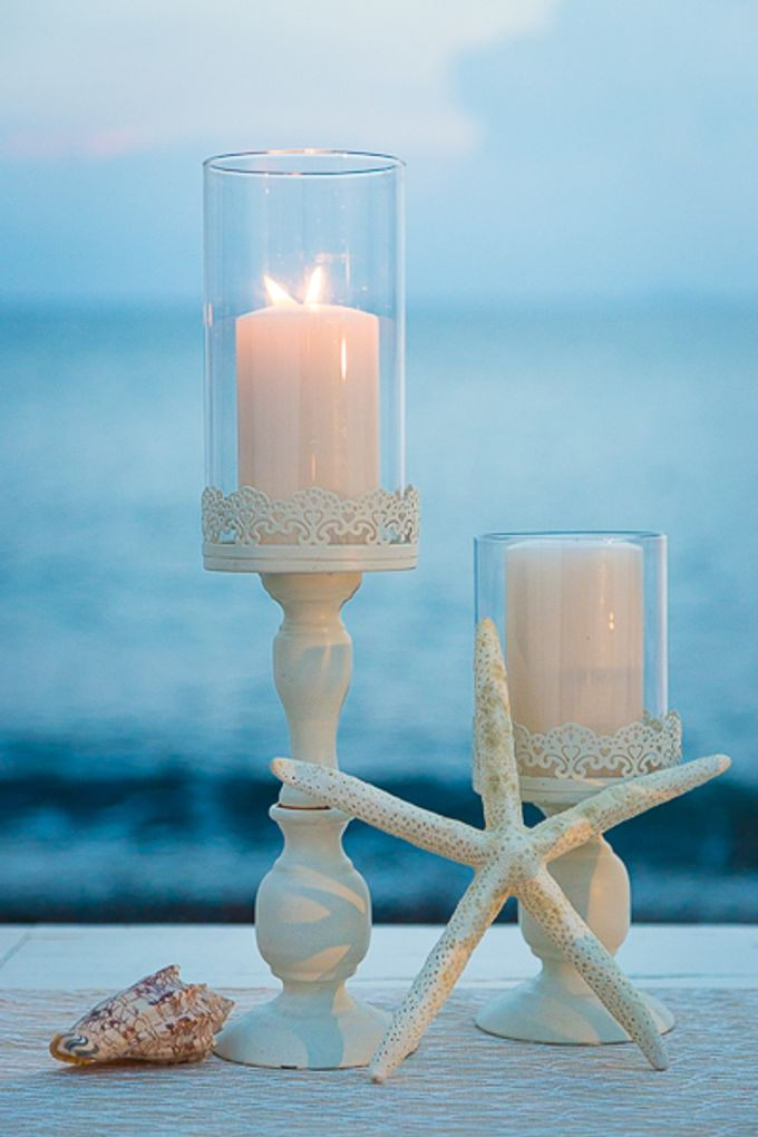 Beach wedding in Santorini by Red Knot Weddings & Events - 044