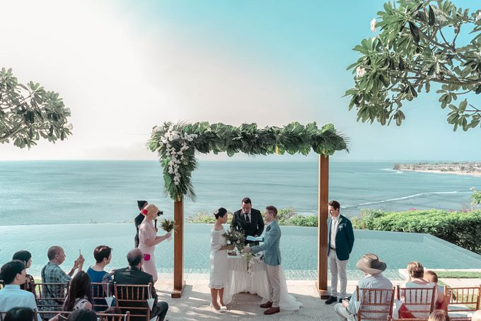 Wedding at Bayuh Sabbha in Uluwatu by Bali Tie d' Knot - 006