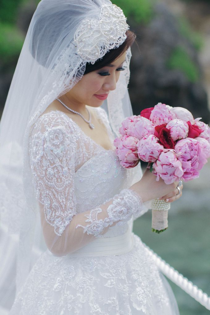 Brian & Imelda Bali Wedding by Ian Vins - 034